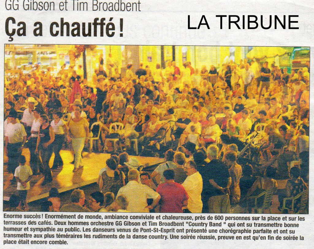 Article L Tribune Concert BSA 07 09