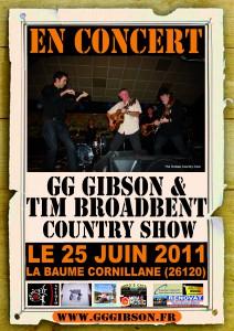 Affiche Baume Cornillane country show(2)