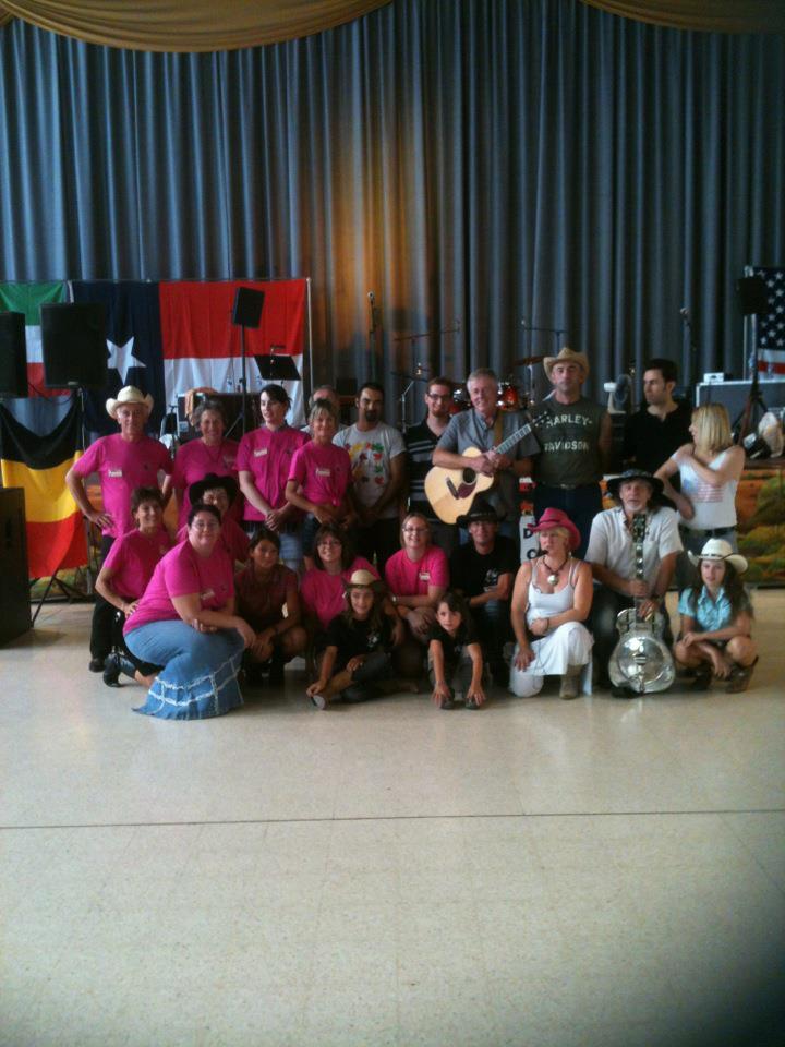 Avec danseurs AIME COUNTRY