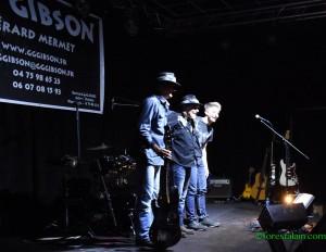 GG GIBSON Les Arts dans l'R 2016 Salut final