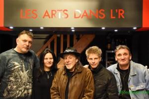 GG GIBSON Les Arts dans l'R 2016 Trio + Arts dans l'R)